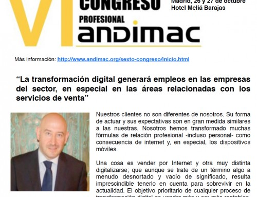 La transformación digital generará empleos en las empresas, en especial en los servicios de venta