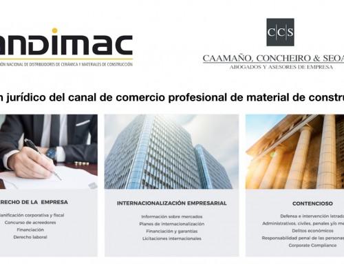 Novedades legislativas comercio de cerámica, material de construcción e instalaciones. Diciembre 2017
