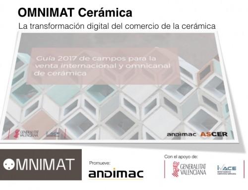 Cevisama acoge la presentación de Omnimat Cerámica