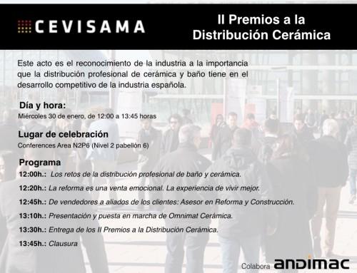 """Andimac y Cevisama organizan el """"Día del Distribuidor"""" en la feria de Valencia"""