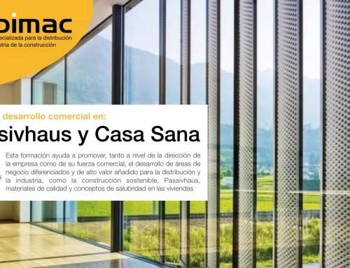 Andimac y Formación Passivhaus sellan un acuerdo para promover el desarrollo del modelo de negocio a partir de especialización en Passivhaus y Casa Sana