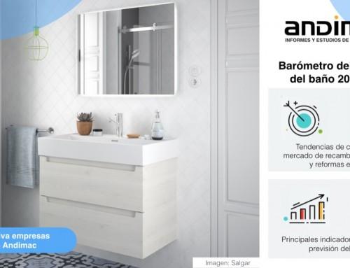 Ya está disponible el Barómetro del Mercado del Baño 2018/2019