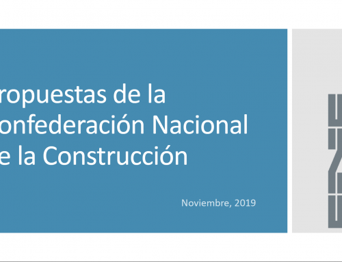 Medidas para la sostenibilidad de la construcción dirigidas al futuro gobierno