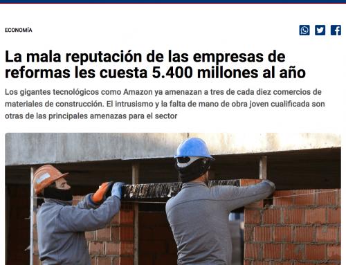 La mala reputación de las empresas de reformas les cuesta 5.400 millones al año