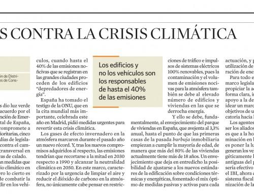 Aliados contra la crisis climática