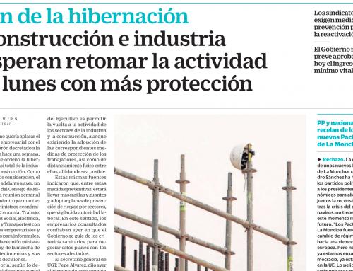 Construcción e industria esperan retomar la actividad el lunes con más protección