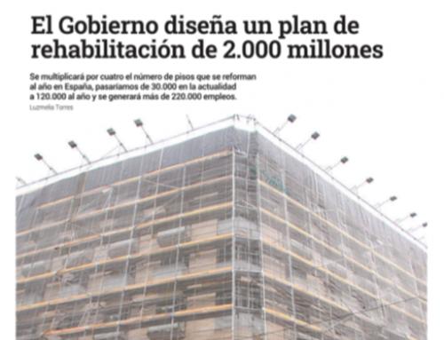 El Economista Inmobiliaria | El Gobierno diseña un plan de rehabilitación de 2.000 millones