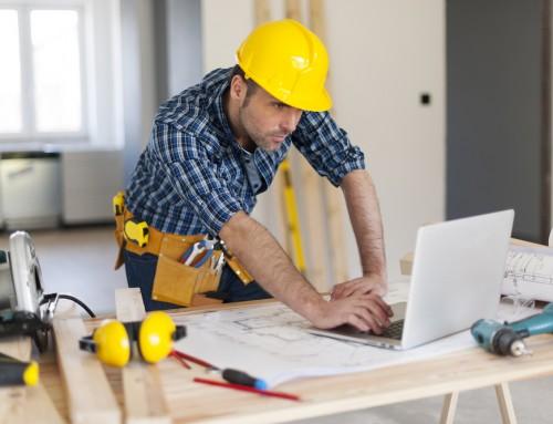 Evolución del empleo en construcción en el mes de diciembre