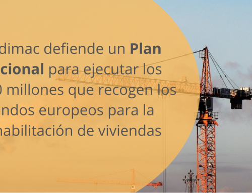 Andimac defiende un Plan Nacional para ejecutar los 6.820 millones que recogen los fondos europeos para la rehabilitación de viviendas
