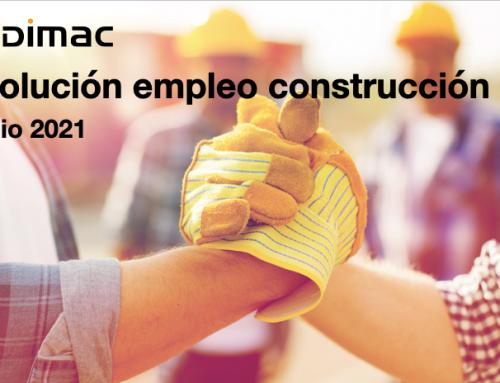 Empleo en construcción en el mes de junio
