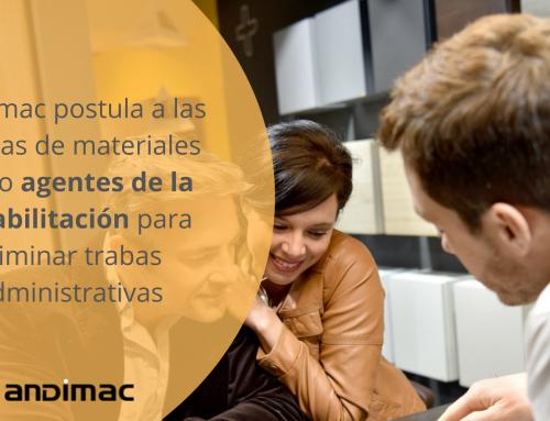 Andimac postula a las tiendas de materiales como agentes de la rehabilitación para eliminar trabas administrativas